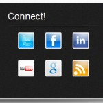 Connect footer
