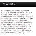 Sidebar text