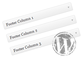 Multi Column Widget Footer