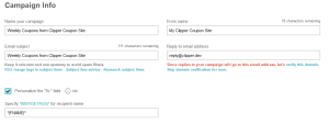MailChimp - Create Campaign 3