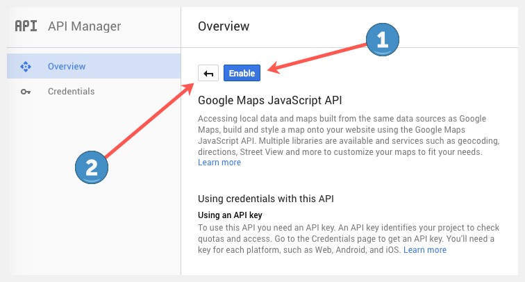 Setting Up Your Google Maps Api Key Appthemes Docs
