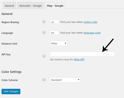 google-maps-api-key-appthemes