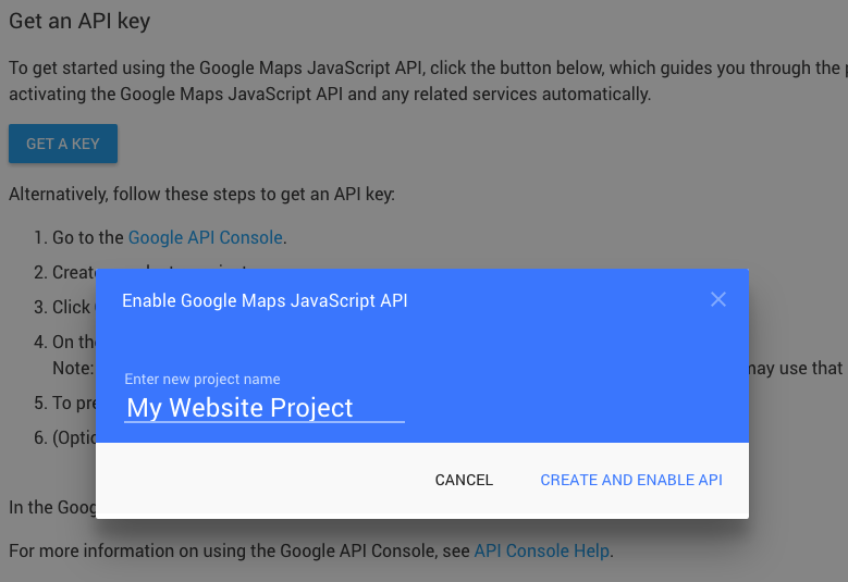 Setting up Your Google Maps API Key | AppThemes Docs