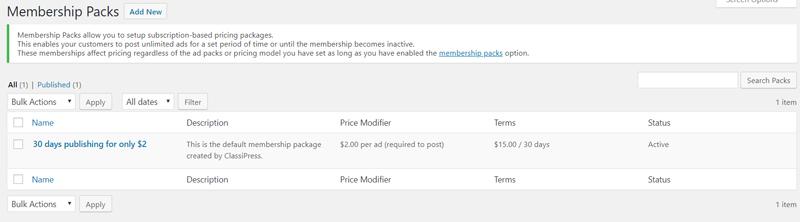 membership-packs-classipress