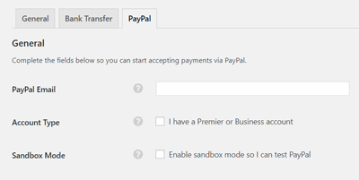paypal-payment-setting-classipress